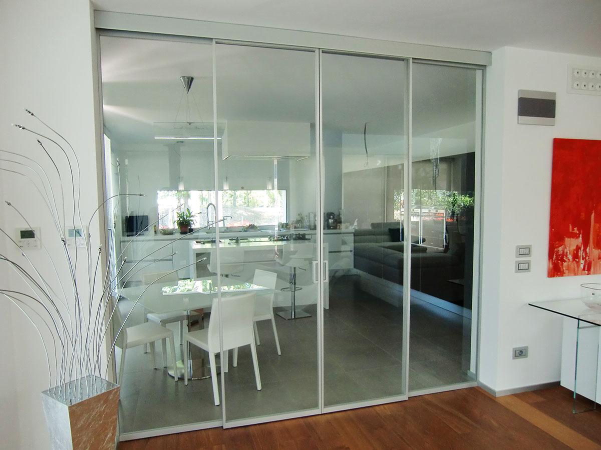 Porte in vetro scorrevoli per interni prezzi porte a vetri per interni with porte scorrevoli - Spazzole per porte scorrevoli ...